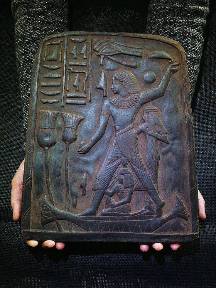 ANCIENT EGYPT EGYPTIAN ANTIQUE Accountant Nebamun Stela Relief 1400-1350 BC