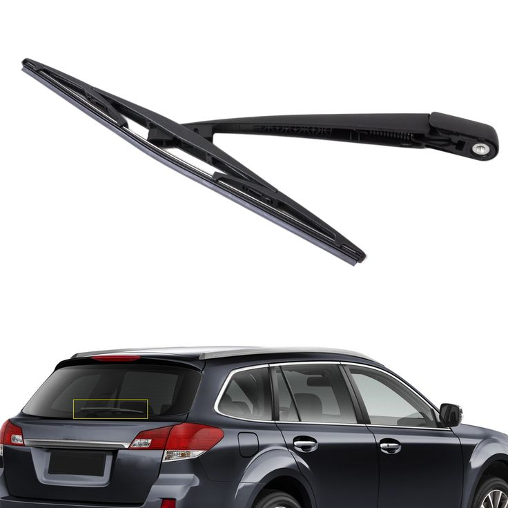 New Arrival Rear Window Windshield Wiper Arm + Blade For Subaru Forester 2004 2005  Impreza 2005 Legacy 2006 Outback 2007 #Affiliate