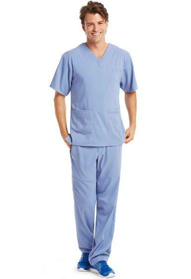 KD110 Men's Scrub Set. Free Shipping on qualifying orders! Shop Now: http://www.nationalscrubs.com/KD110-Barco-Uniform-Scrubs-s/120576.htm
