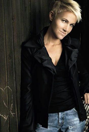 Marie Fredriksson (1958-), Swedish singer and songwriter,  one half of the pop band Roxette. Survived a brain tumor and keeps on rocking!
