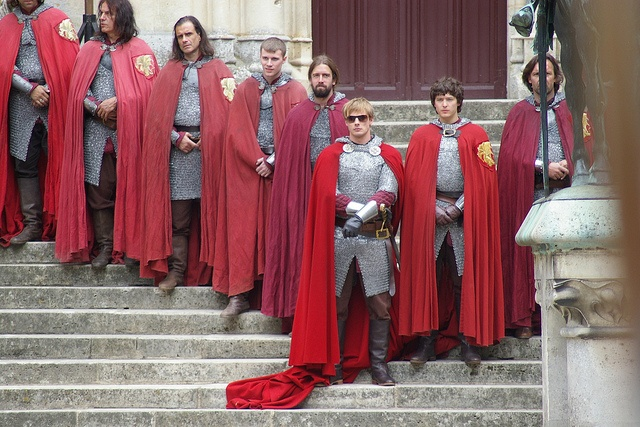 oh bradley and his glasses <3 IMGP8927 by merlinlocations, via Flickr <-- I'm sorry but I love how when in season 5 Arthur and his knights are on the steps in a V with Arthur at the point. How long does it take for the knights to get in their spot and maintain the perfect formation?