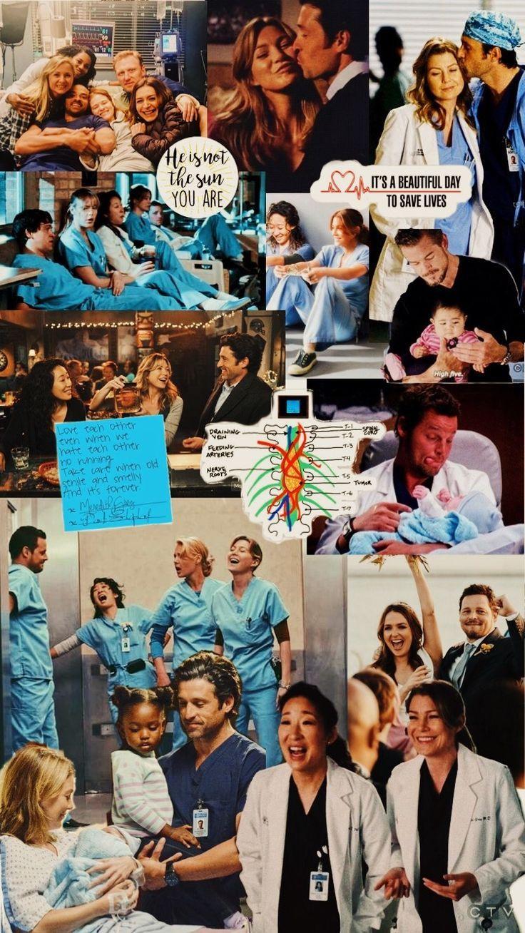 Greys Wallpaper en 2020 (con imágenes)   Derek anatomia de ...