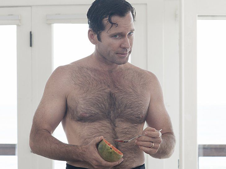 Pin for Later: The Sexiest TV Moments of 2014 Ray Donovan Steve (Eion Bailey) is so good at eating a papaya. Like, so good.