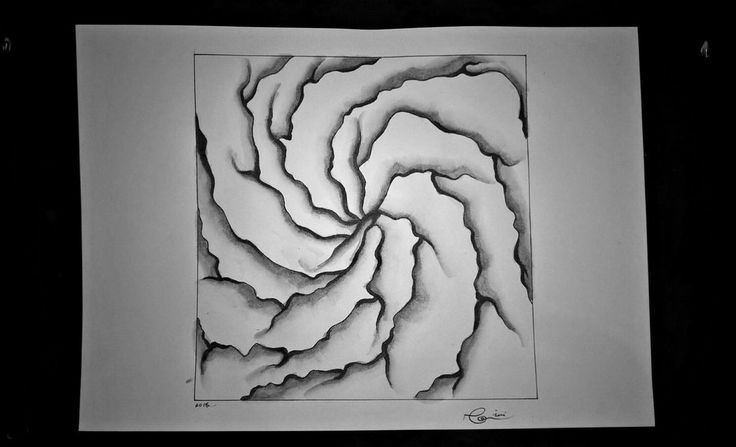 [O] #art #artwork #painting #paint #gray #blackandwhite