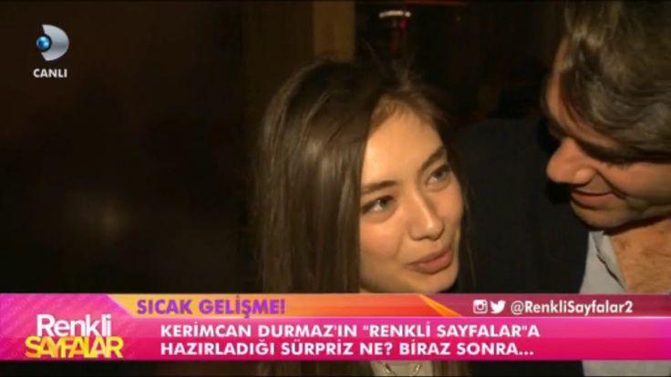 Kadir Doğulu Eşi Neslihan Atagül'ü ÖpmeyeDoyamadı / Renkli Sayfalar