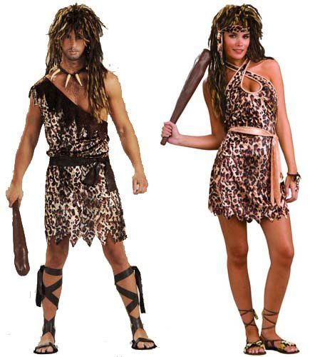 Cave Stud & Cave Beauty Adult Standard Couples Costume | Shop Halloween Costumes | Customes at great prices | Holiday Parties | http://www.zombieinfestedworld.com/halloween-costumes-for-couples.html   #scarycostumes #halloween #halloweencostumes #womenscostumes #horror #Holidays #Holidayparties #menscostumes #kidscostumes #funnycostumes