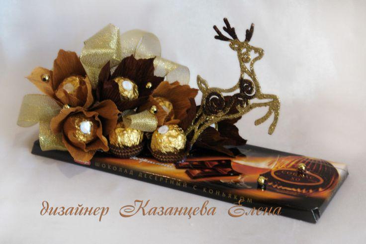 Gallery.ru / Фото #29 - шоколадки, презенты, оформление подарков - kazantceva
