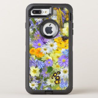 Spring Flowers iPhone 8+ 7+ OtterBox Defender Case