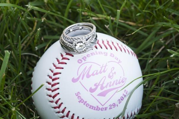 baseball wedding favors/decorations