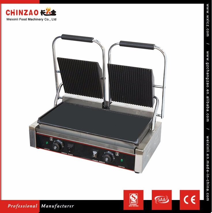 New Style Panini Grill Chz-810-2 Of Chinzao Brand Made In China Of Ce Certificate - Buy Grill For Restaurant,Sandwich Press Panini Grill,Portable Grills For Sale Product on Alibaba.com