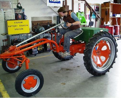 Allis Chalmers G Converted To Electric Motor Electric