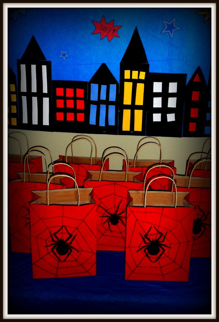 30 best Cool Spiderman/Spidergirl Party Ideas images on Pinterest
