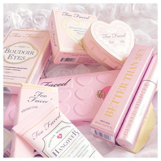 Instagram @toofaced Pink essentials