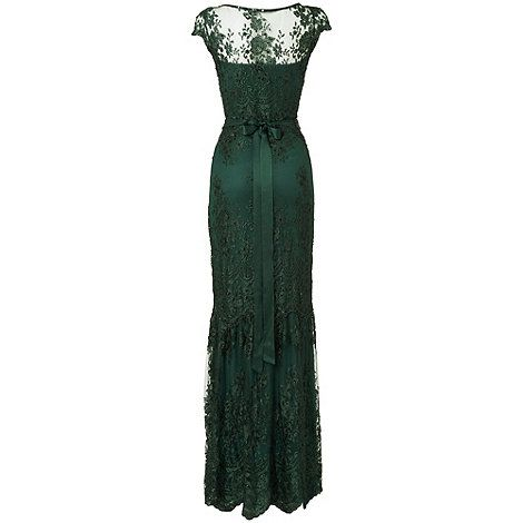 Phase Eight Forest Cindy Lace Full Length Dress- at Debenhams Mobile