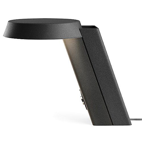 """Part of an initiative to """"re-light"""" the original designs of Gino Sarfatti, the Flos Mod.607 LED Table Lamp is an updated counterpart to the first model with contemporary technology and modern solutions. In 1971, the fixture used a halogen bulb, while today, the structure is outfitted with LED modules better suited for modern energy-efficient needs, creating strong direct light. A salute to the past, the Mod.607 shows that good design can withstand technological advancement while retaining…"""
