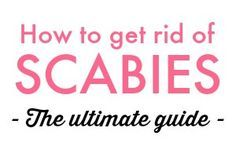 My guide on how to get rid of scabies is a thorough, tested treatment plan to cure a scabies infestation. I have been there! And hopefully I can help.