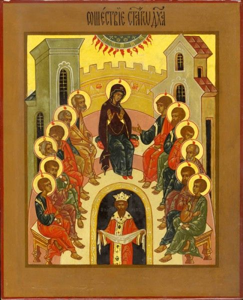 icon of pentecost explanation