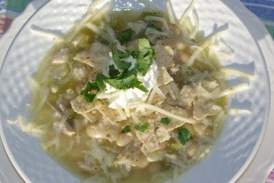 White Chicken Chili- this is awesome! lemonadeandlollypops.com