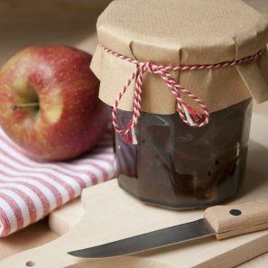Appelchutney met bosbessen - Dille & Kamille