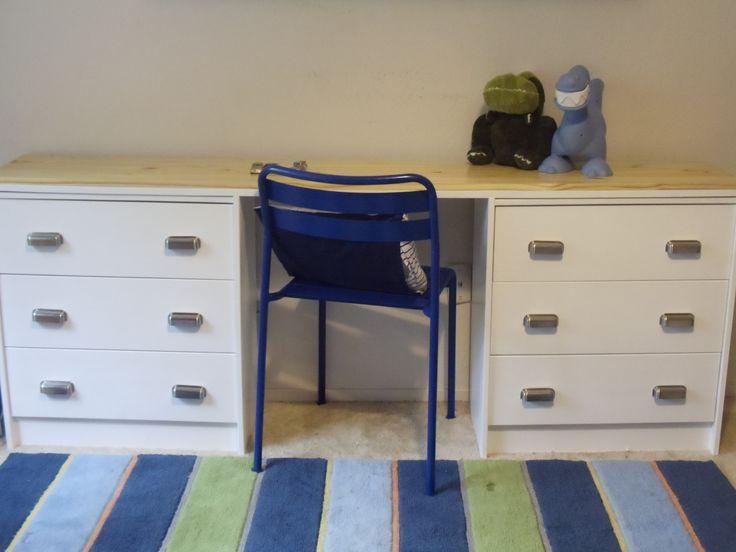 Desk From Ikea Rast Dressers. Ikea Hack SchreibtischDiy ...