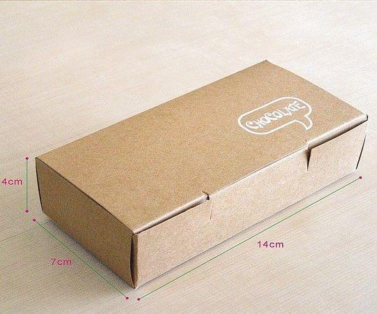 Яичный пирог печенье Запад и упаковку для шоколада, торт коробки коровьей бумаги 20 шт.