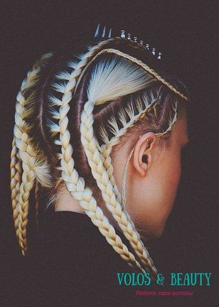 Освойте технику самостоятельного плетения кос – так волосы растут быстрее, а их обладательница выглядеть ещё нежнее.