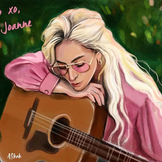 Lady Gaga - Joanne (Where Do You Think You're Goin'?) (Piano Version) 01/26/2018 ARTIST CREDIT: @arthurshahverdyanart