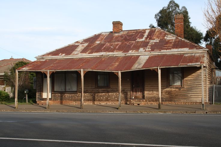 An old house in Lancefield, Victoria Australia