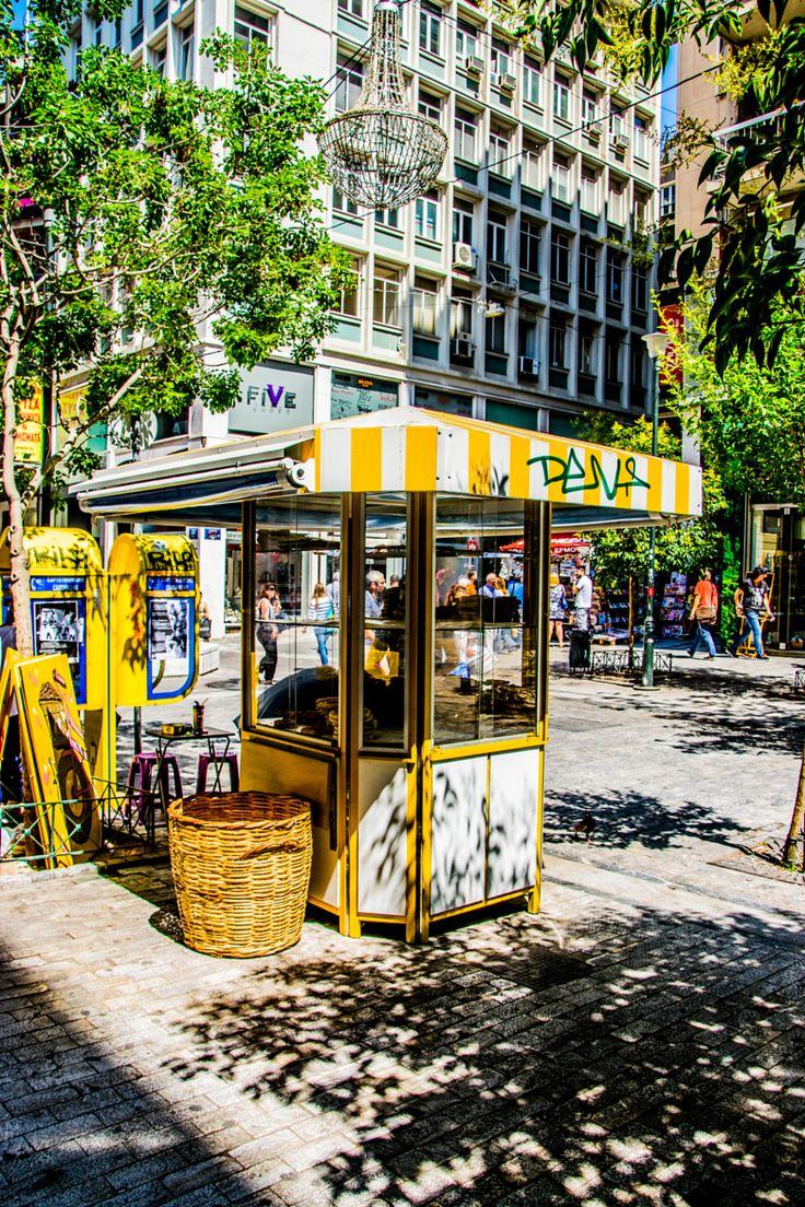 Koulouri Kiosk, Αthens, Greece