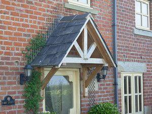 Timber FRONT DOOR awning