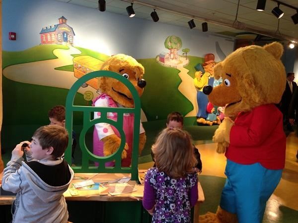 The Bear Country Credit Union created by Franklin Mint Federal Credit Union (FMFCU) teaches kids about money.