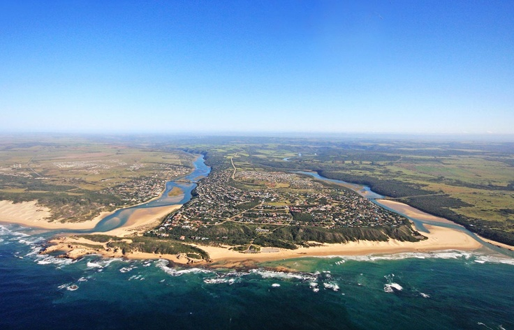 Kenton on Sea, Zuid-Afrika, Bushman´s and Kariega - the two most beautiful rivers in South Africa