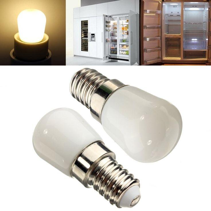 E14 LED Bulb 2W White/Warm White 100LM Refrigerator Light AC 220-240V