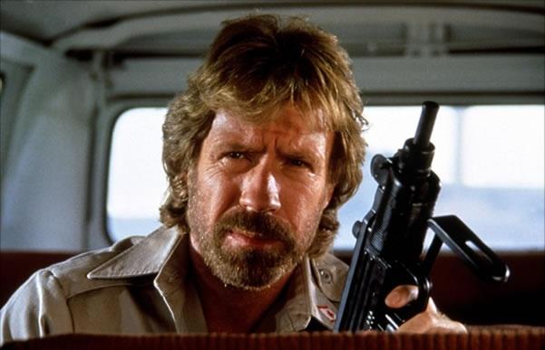 Chuck Norris - Epic movie beards