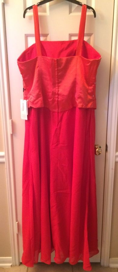 b880d0a430c4c JJs House Mother of the Bride Long RED Formal Wedding Evening Dress Plus Sz  20W#Bride#Long#RED