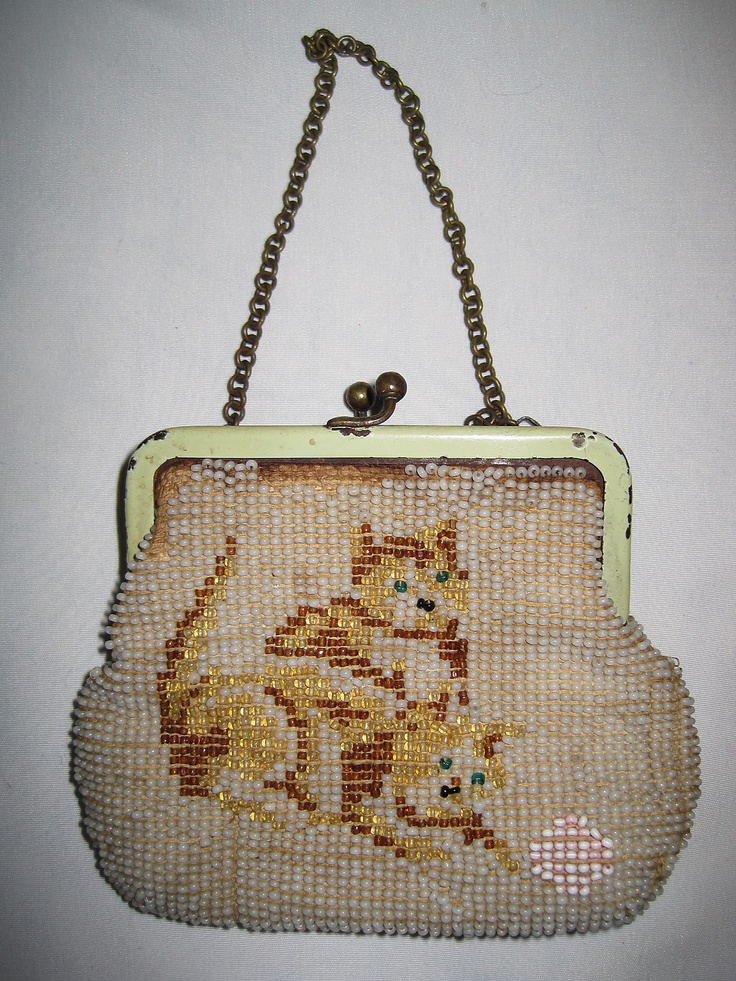 Antique Child's Girl's Beaded Coin Purse 1930-1940's ...