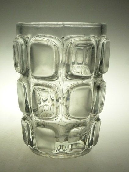 Czech art glass vase Vizner Sklo Union