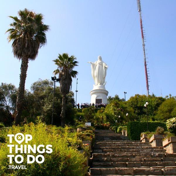Parque Metropolitano - Santiago - El Parque Metropolitano es el pulmón verde la capital y el 4 parque urbano más grande del mundo, subir a la cima del cerro San Cristóbal es un deber.