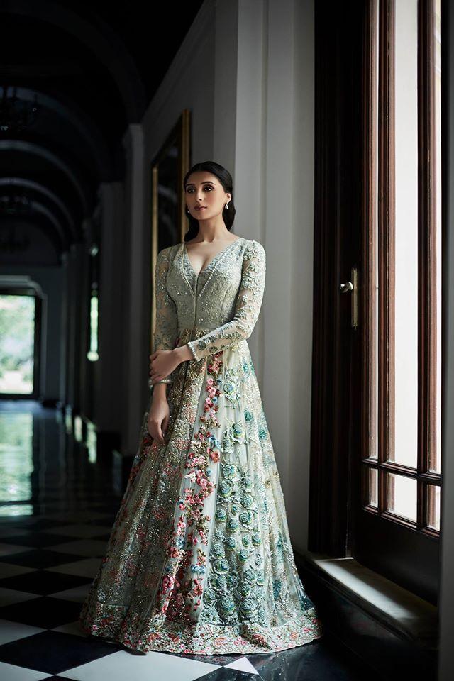 Pernia Qureshi for Varun Bahl. The Vintage Garden. Couture '16  #varunbahl #VB…