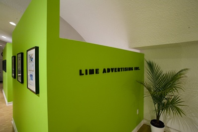 Lime Advertising, Inc. - Toronto, Canada 416-340-0654 Premier Advertising Agency - Gotta love the colours!