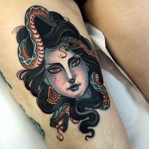 thievinggenius:  Tattoo done byJean LeRoux