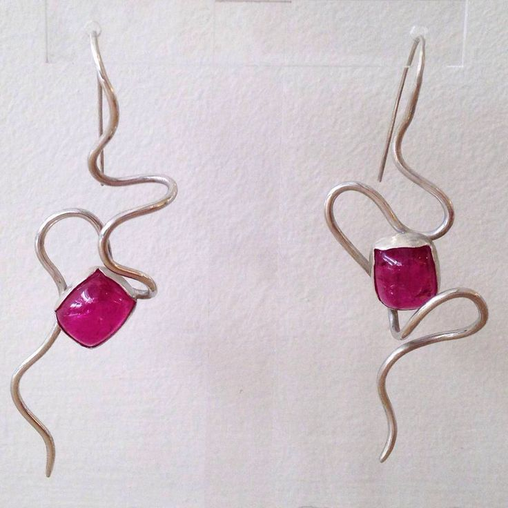 A personal favorite from my Etsy shop https://www.etsy.com/listing/216456209/silver-earring-with-tourmaline-stone