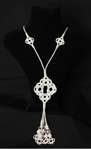 "A unique handmade ""Kazaz"" necklace."