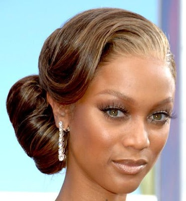 The perfect bridal hairstyle! Thanks Tyra!