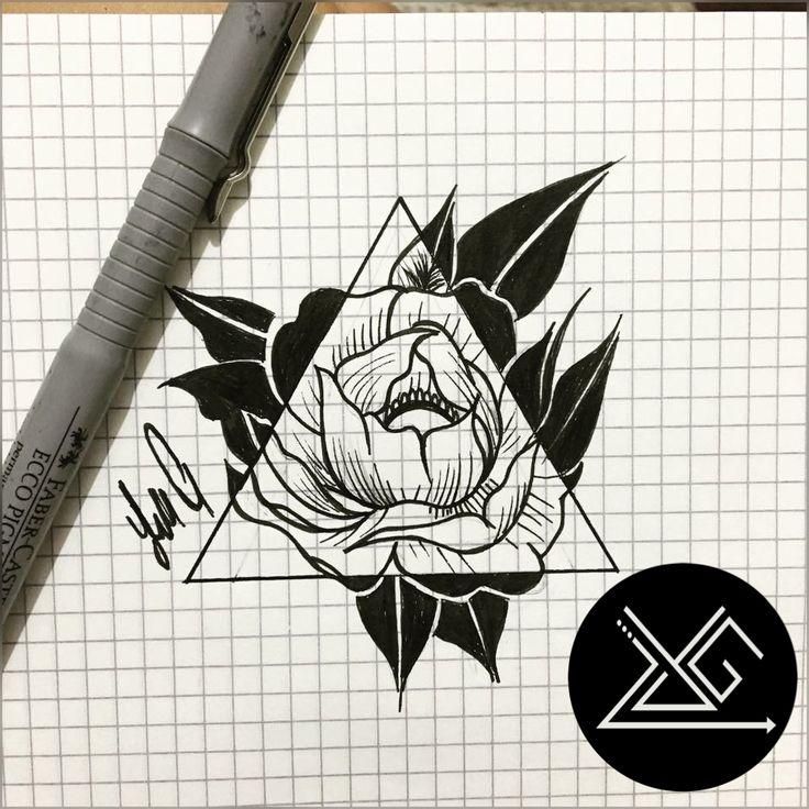 #yelizgunay #flower #drawing #tattooartist