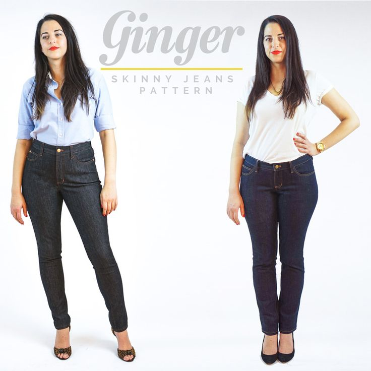 ginger jeans pattern // closet case files