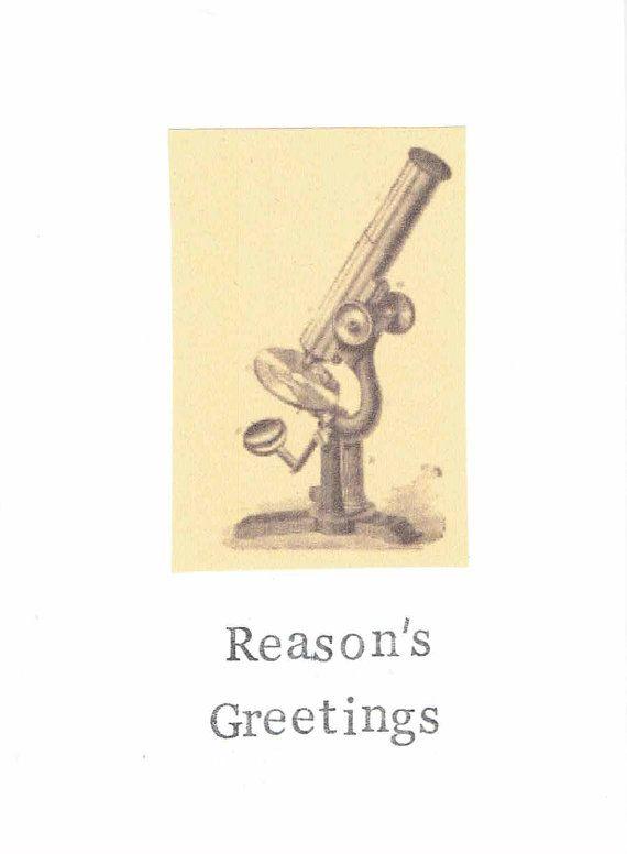 Reasons greetings atheist holiday card anti christmas seasons greetings geekery science teacher gift secular nerdy