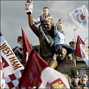 West Ham supporters