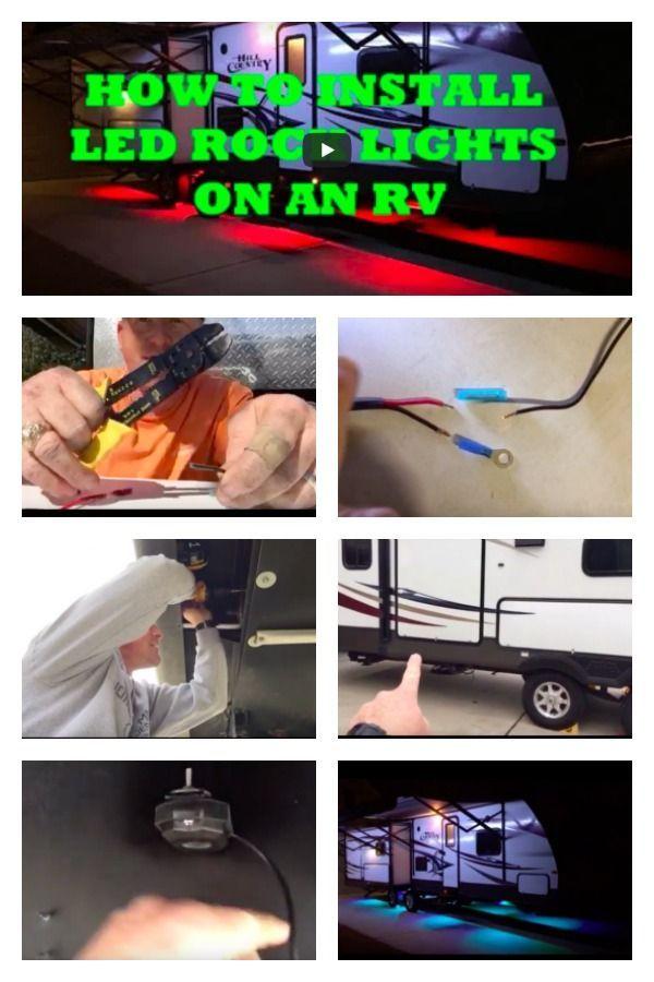 Rv Led Lighting Exterior And Underbody Kits Rv Led Lights Installing Led Strip Lights Led Strip Lighting