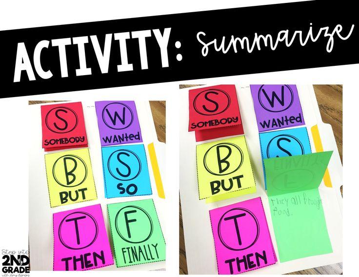 Pinduli and Summarizing FREEBIES! 2nd grade activities